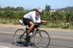 Sidharth Routray Ironman Santa Rosa Bike